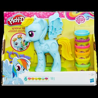 My Little Pony Rainbow Dash Style Salon -muovailuvaha