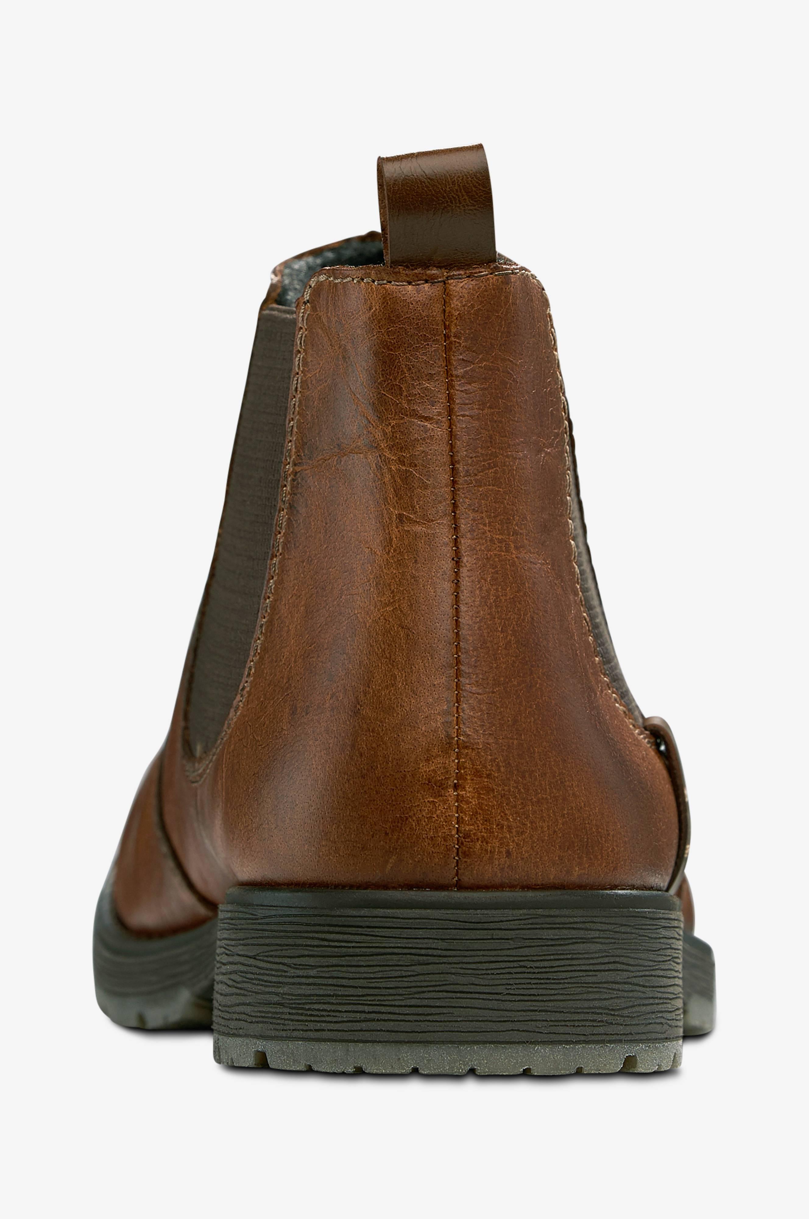 Rieker Chelsea boots af skind Brun Herre Ellos.dk