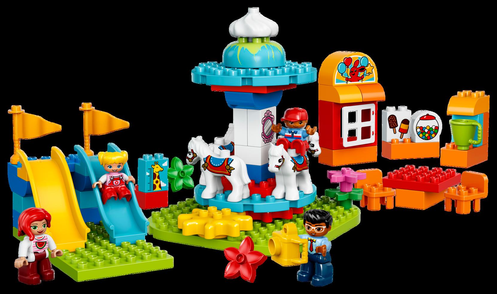 LEGO Duplo Hauska perhetivoli 10841