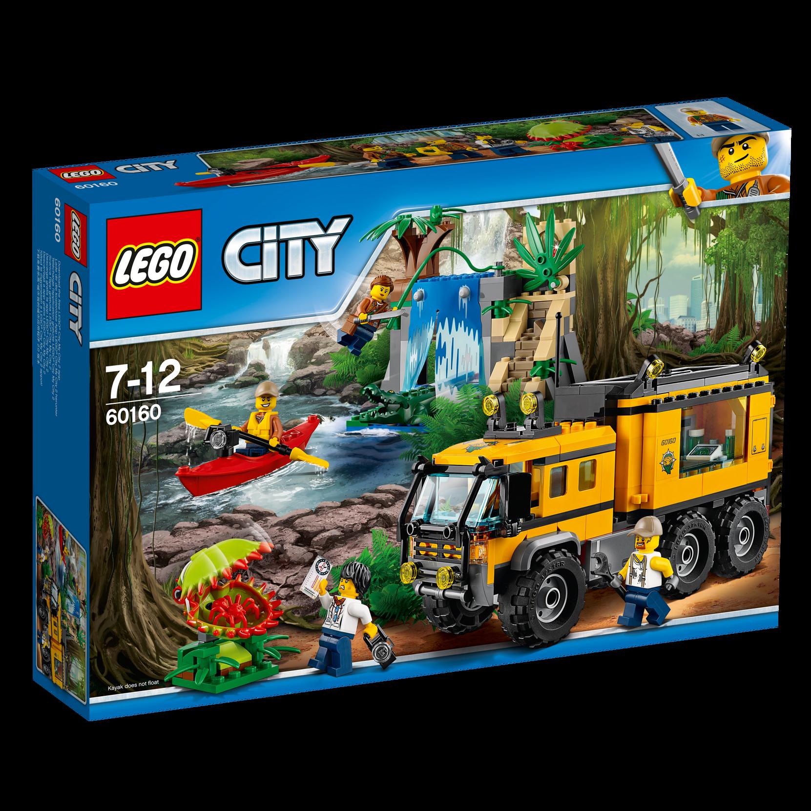 LEGO City Viidakon siirrettävä laboratorio 60160