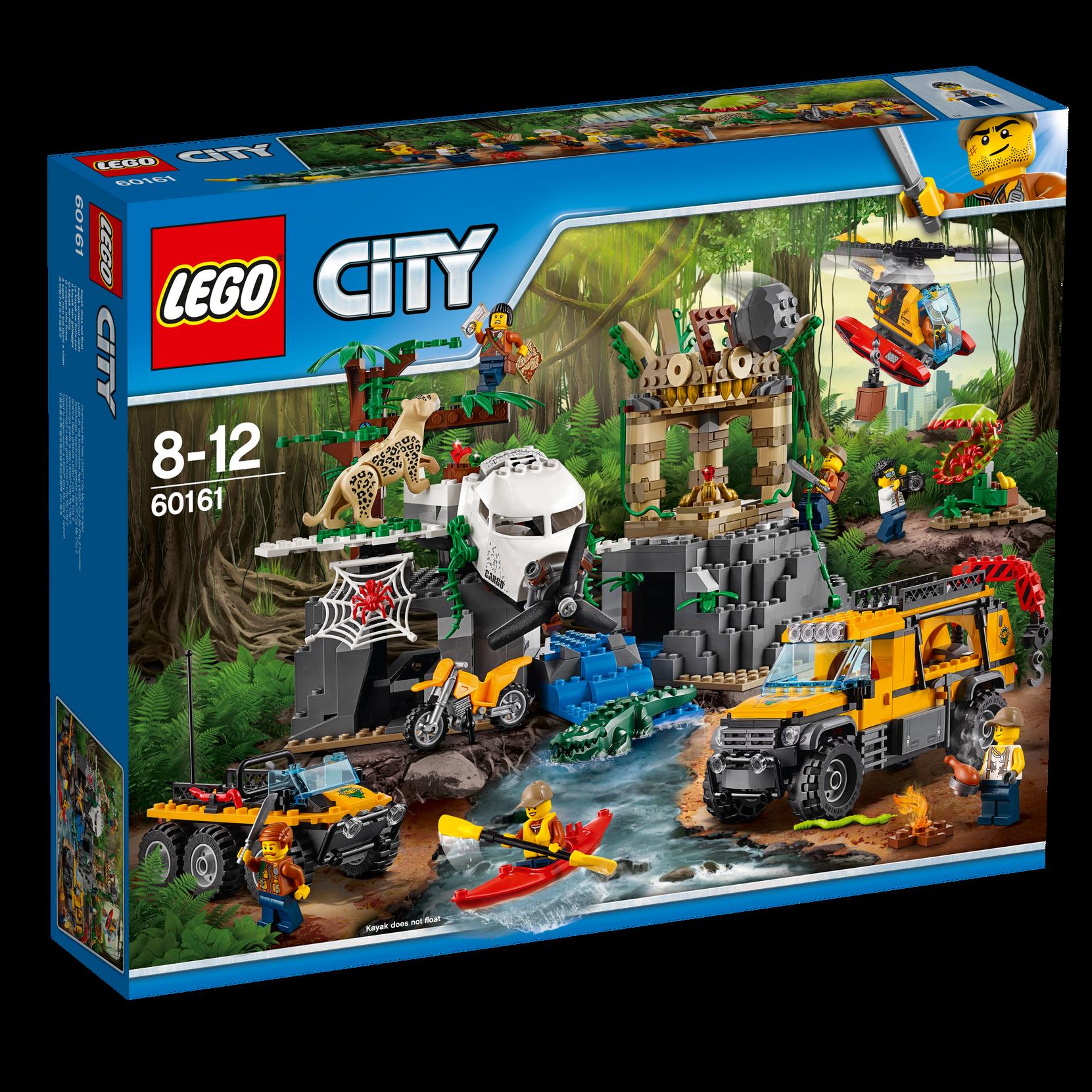 LEGO City Viidakon tutkimuspaikka 60161