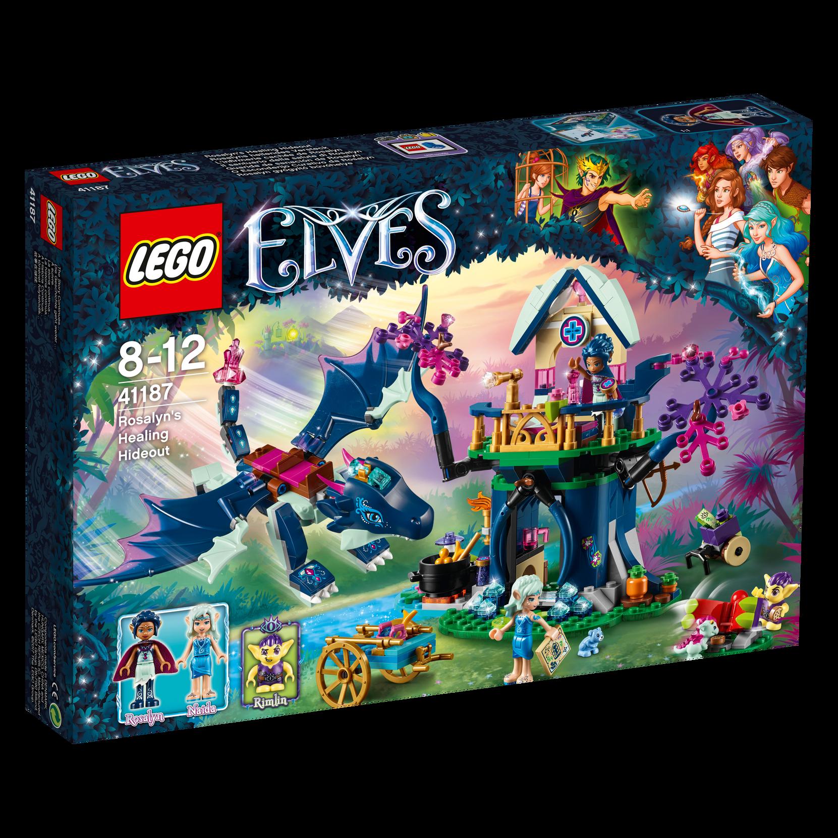 LEGO Elves Rosalynin parantava piilopaikka 41187