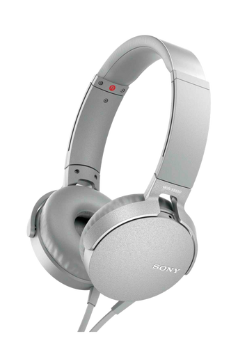 Headset MDR-XB550AP, valkoinen