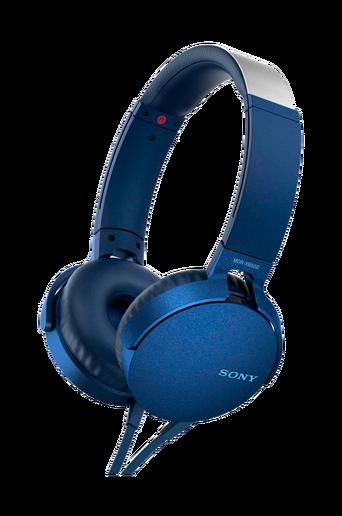 Headset MDR-XB550AP, sininen