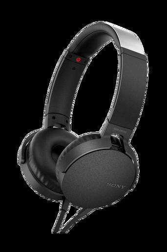 Headset MDR-XB550AP, musta