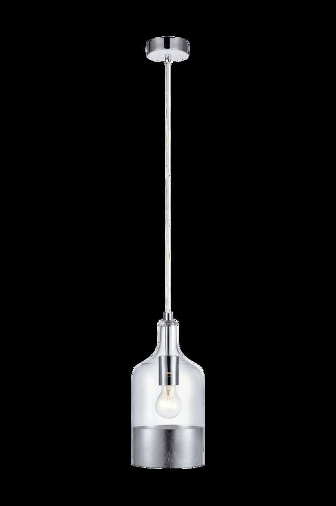 Fönsterlampa BRYANT Pendel Klar/Silver
