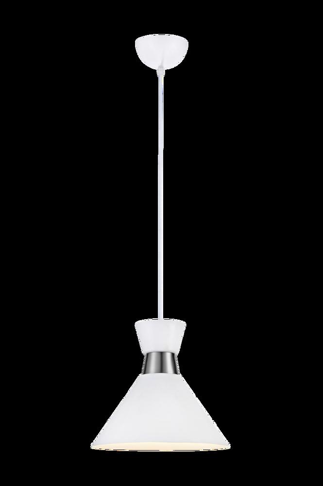 Fönsterlampa WAIST Pendel Vit/Stål