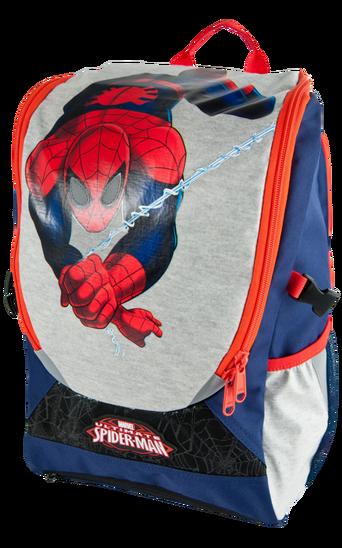 Spider-Man-reppu, jossa verkkopussi