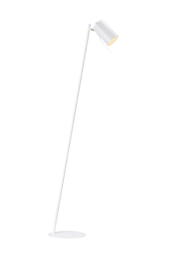 CARRIE lattiavalaisin, valkoinen/messinginvärinen