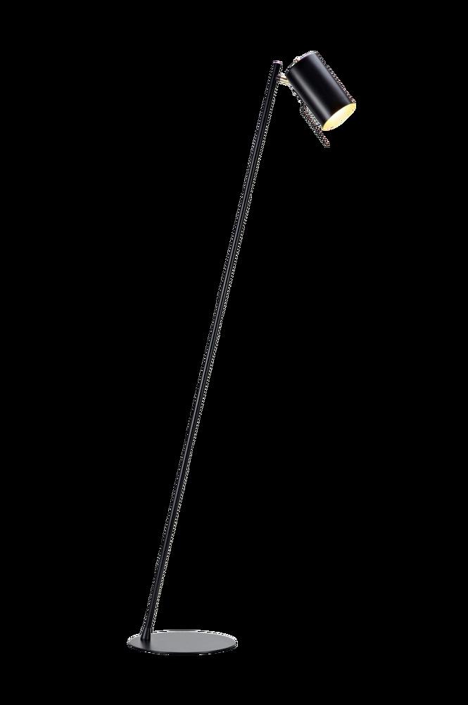 Golvlampa CARRIE Svart/Mässing