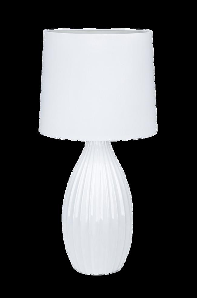 Bilde av Bordlampe STEPHANIE Hvit