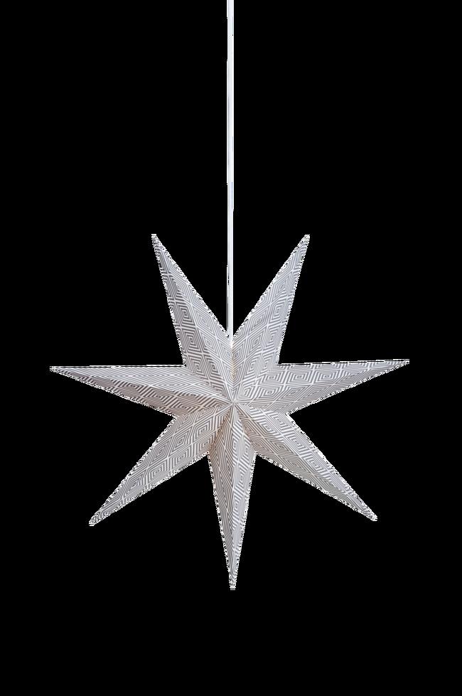 Bilde av Hengende pappstjerne Erna 75 cm