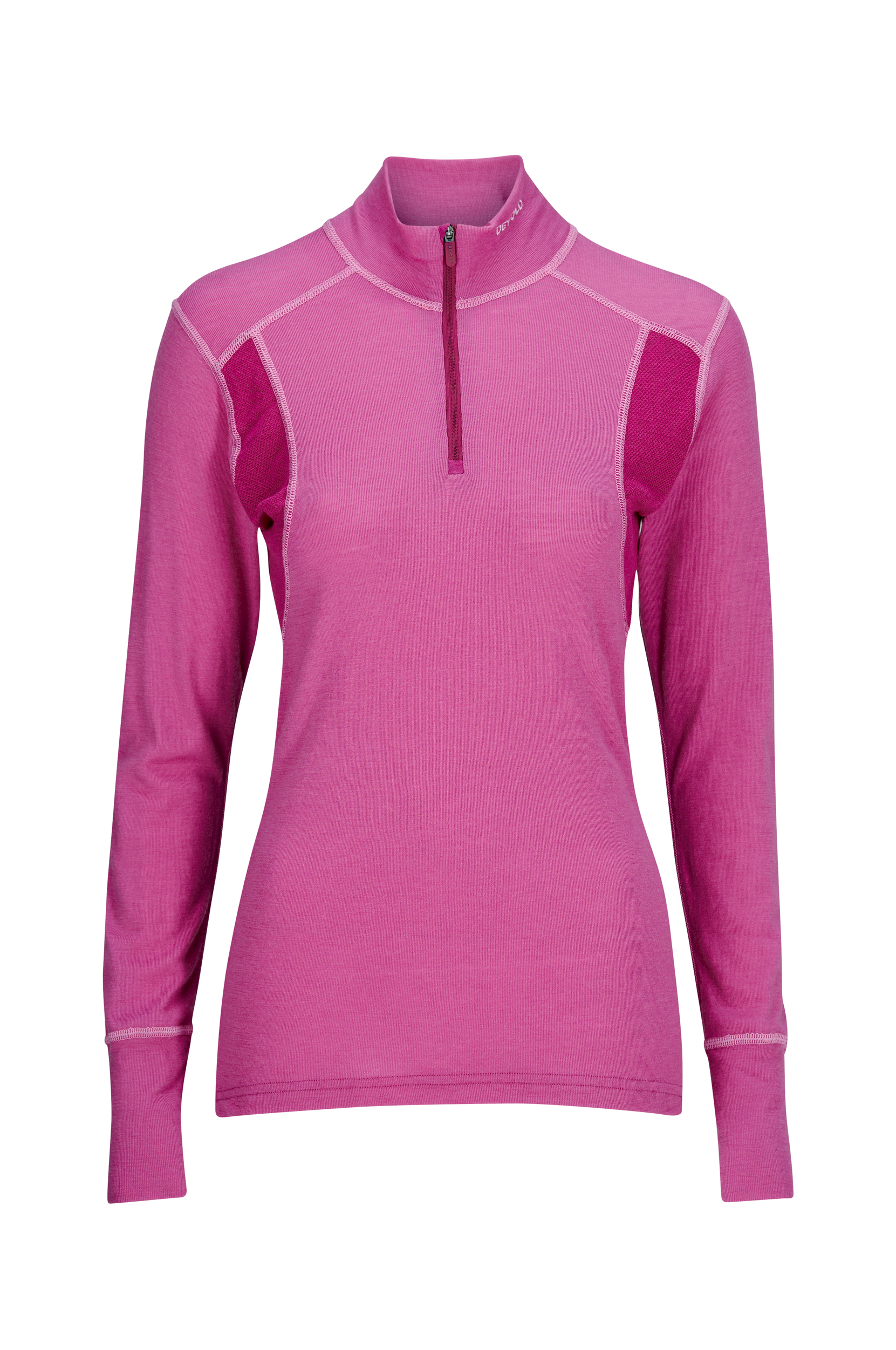 Hiking Woman Half Zip Neck -kerrastonpusero