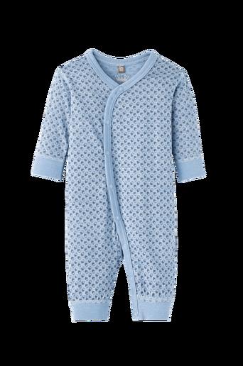 Pyjama villaa ja silkkiä