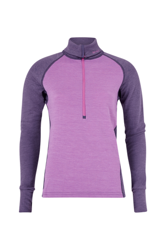 Expedition Woman Zip Neck -kerrastonpusero