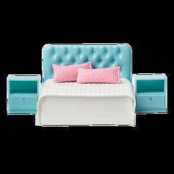 Basic-nukkekodin makuuhuone