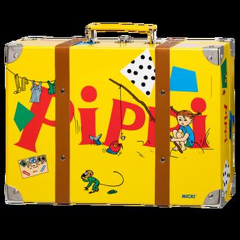 Pippi-matkalaukku, keltainen