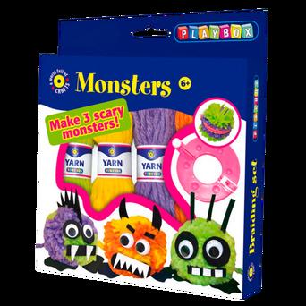 Monster-askartelusetti