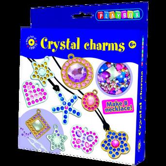 Kristalliriipukset-askartelusetti