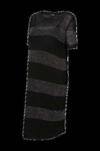 Black Stripe -äitiysmekko