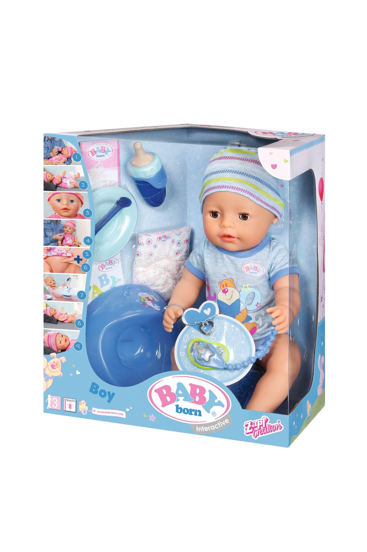 Interaktiivinen nukke, sininen