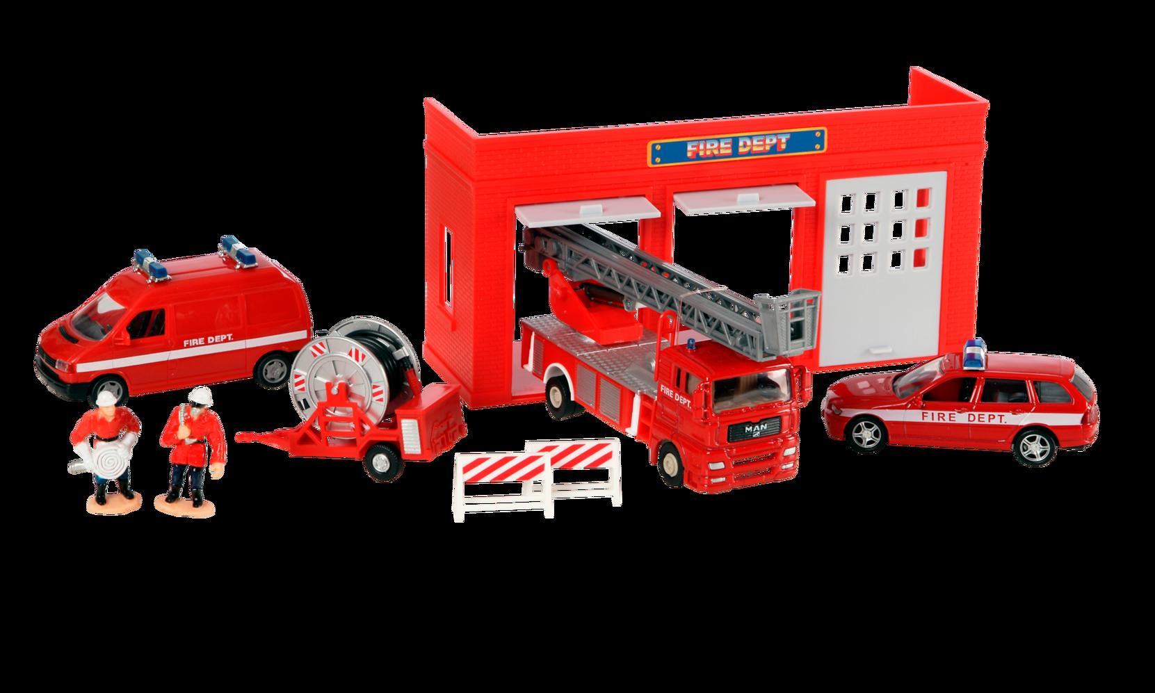 Paloasema ja hälytysajoneuvot