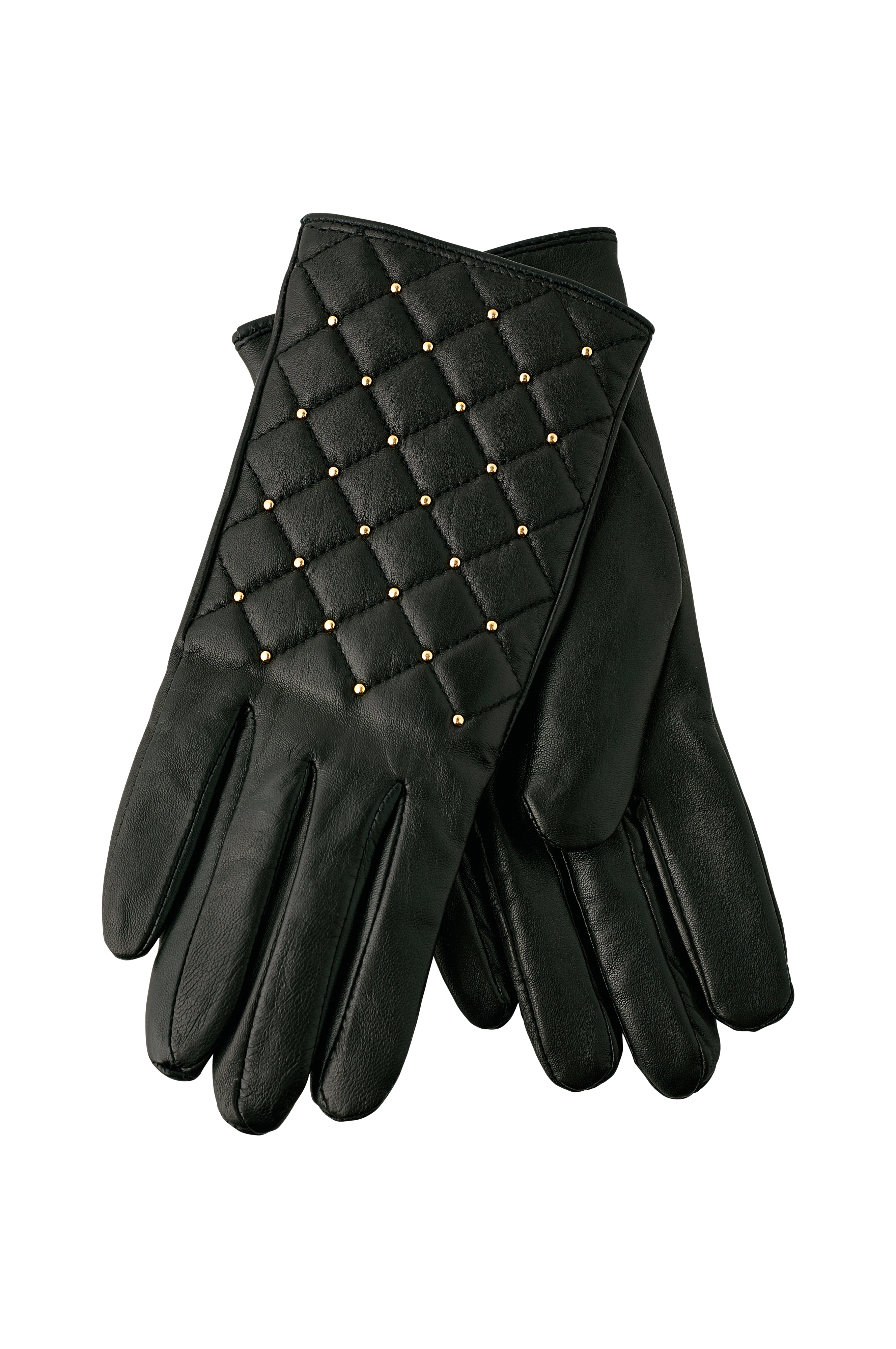 Beautiful quilted leather gloves from DAY