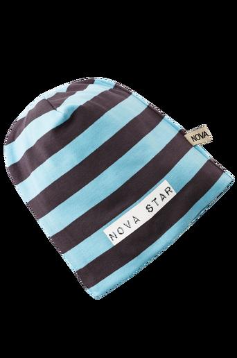 Beanie Striped Blue NB -pipo