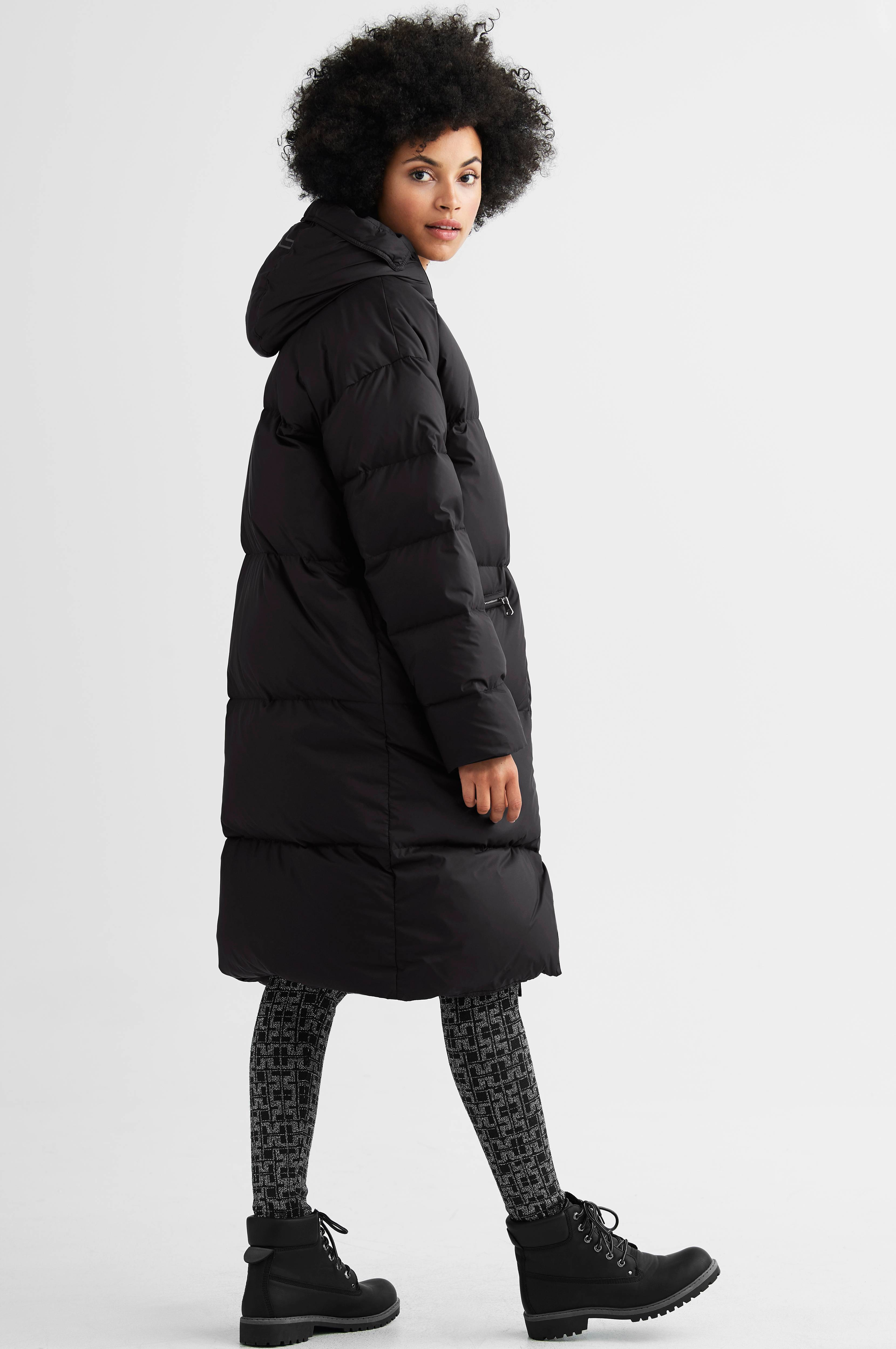 Dunkappa Sydney Taff Nylon Puffer Jacket
