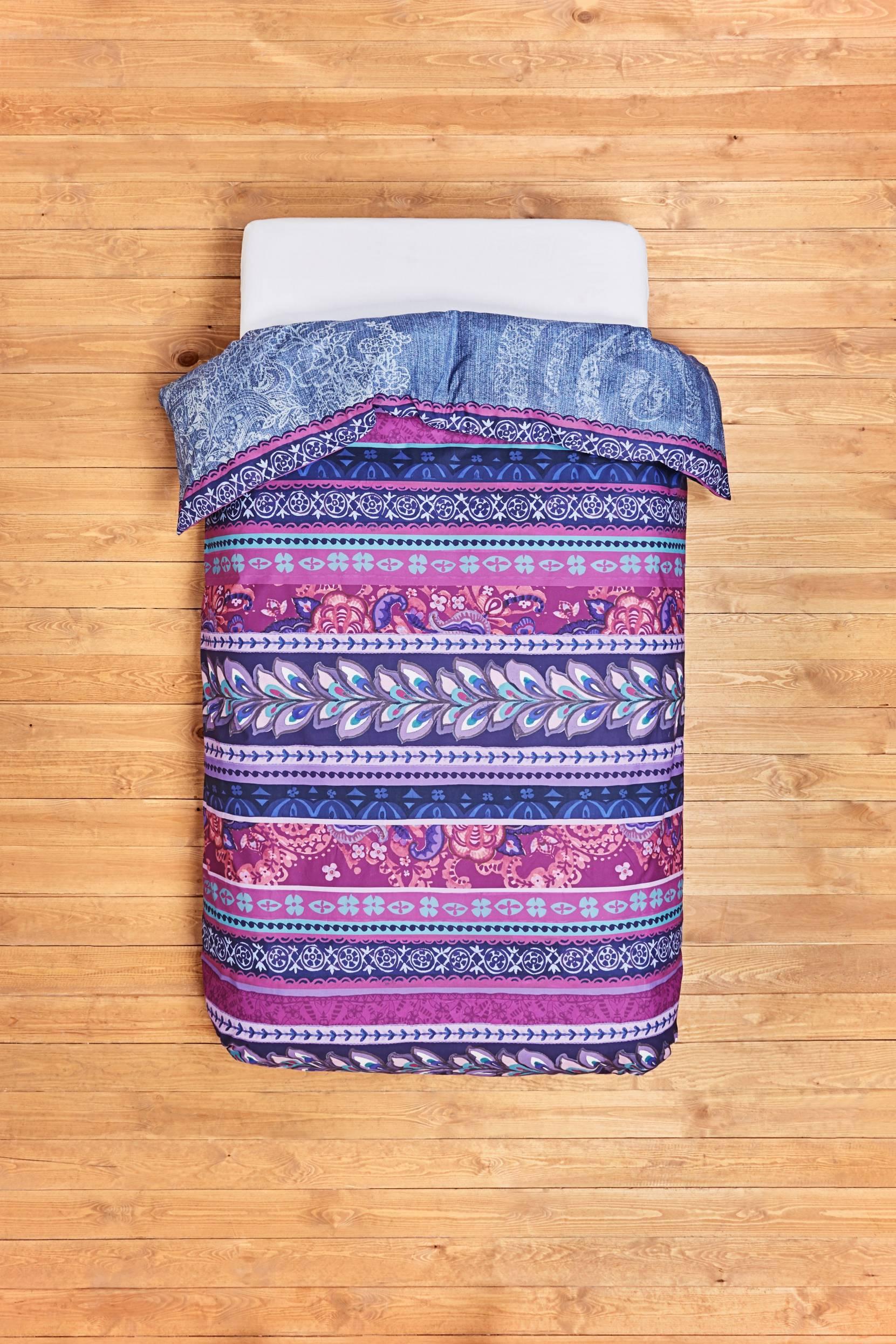 Boho Jeans -pussilakana 160x220 cm