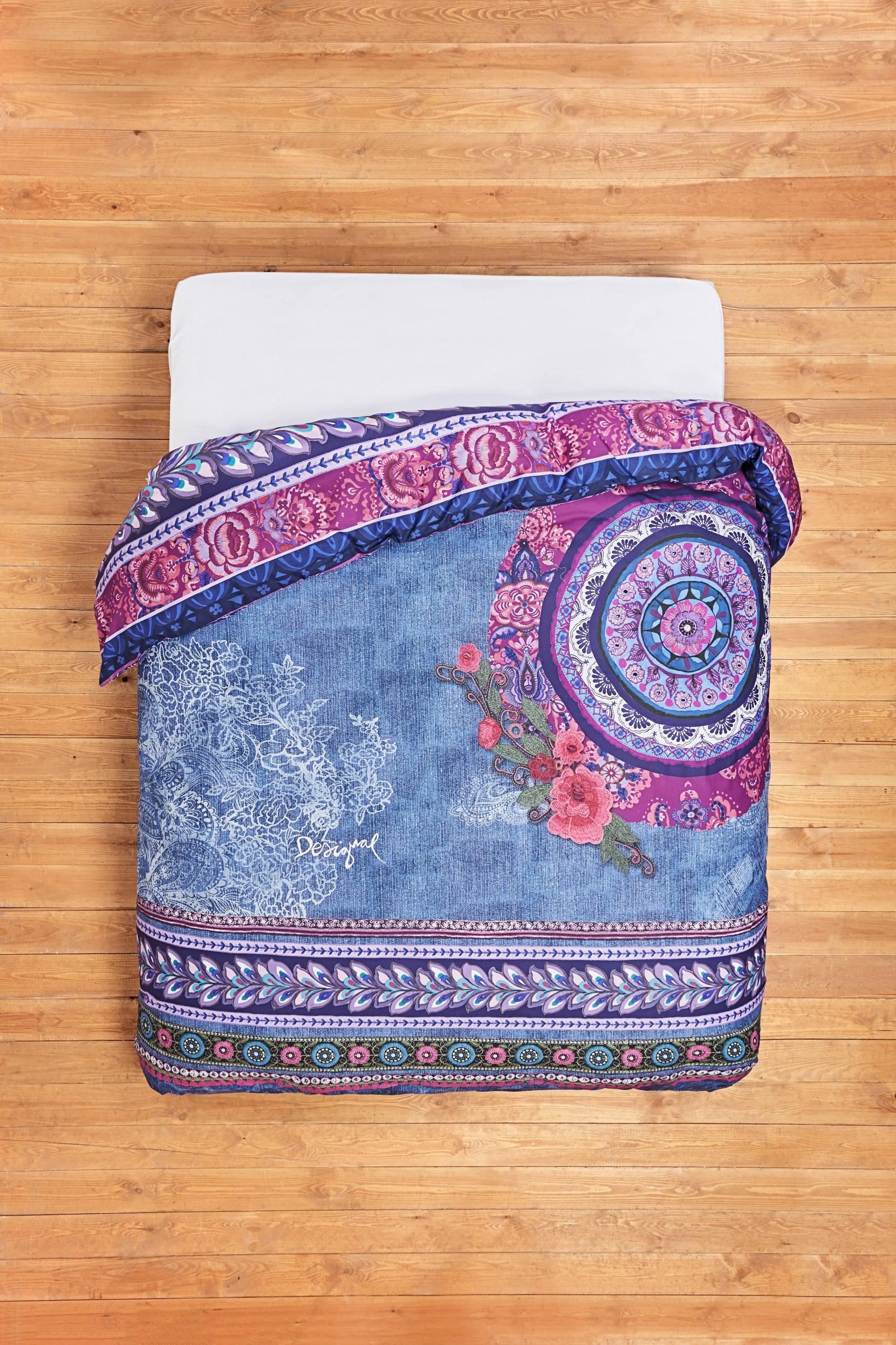 Boho Jeans -pussilakana 240x220 cm