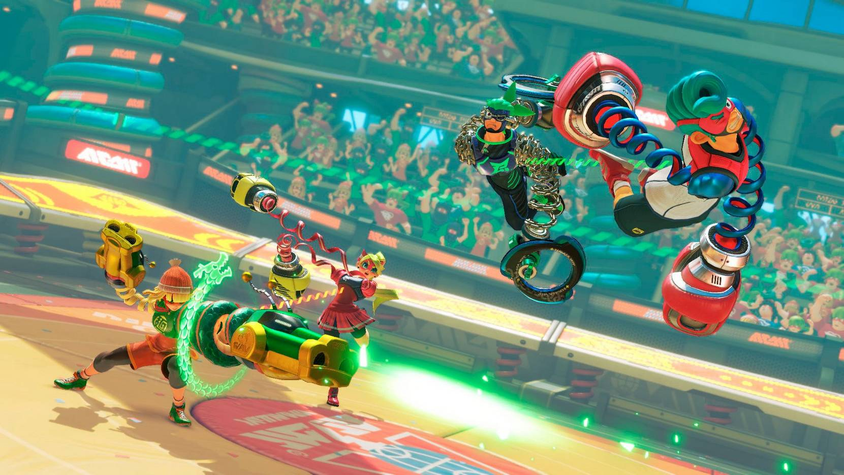 Arms Nintendo Switch -peli