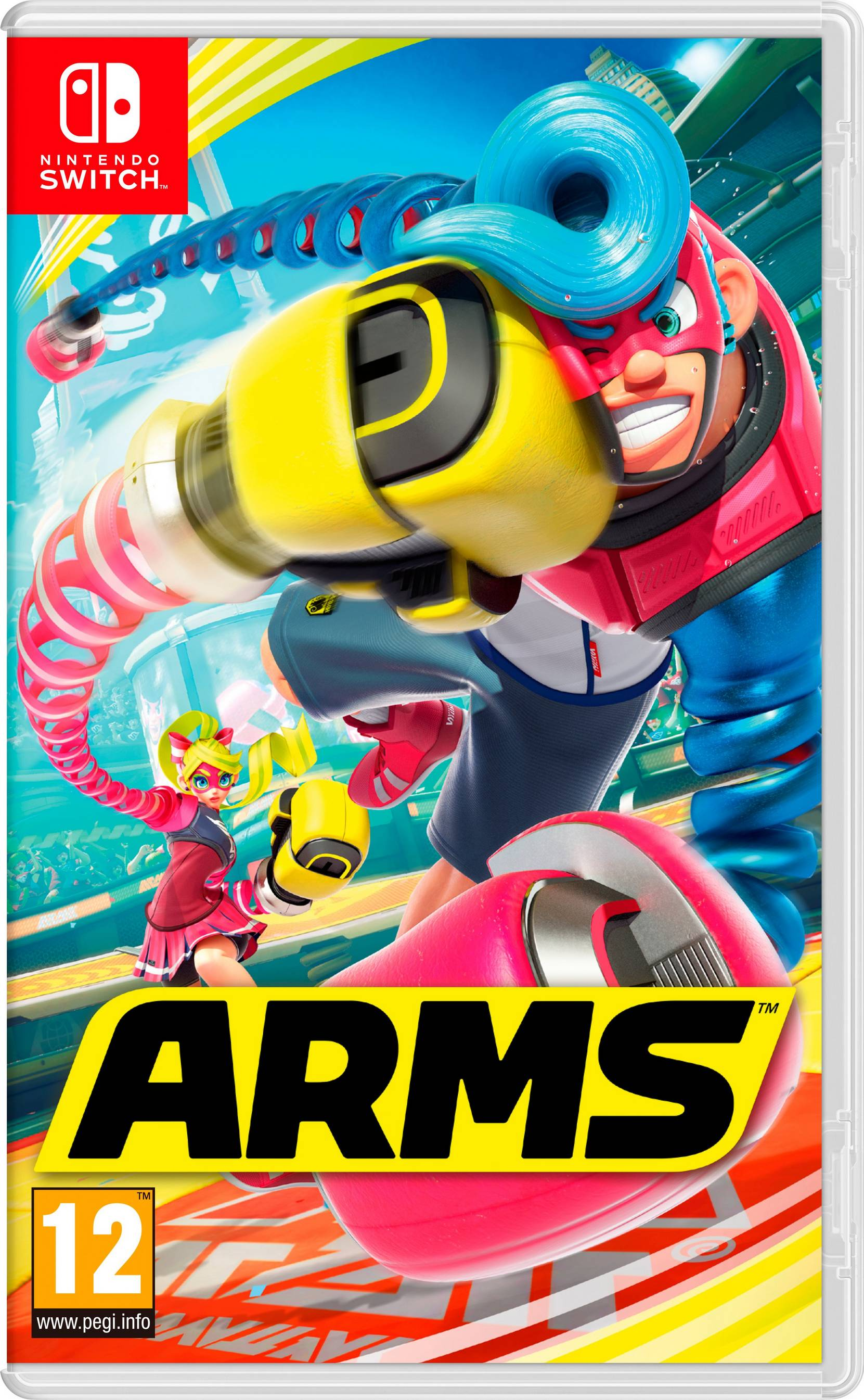 Arms Nintendo Switch -peli