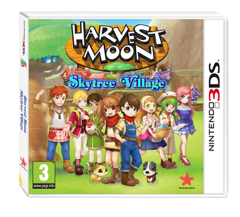 Harvest Moon Skytree Village 3DS Nintendo -peli