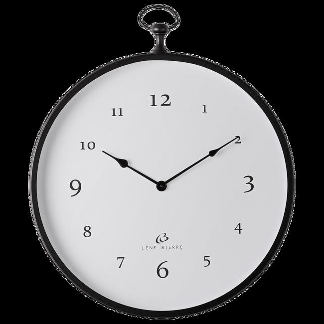 Bilde av Clotilde klokke 51x57 cm. - Svart