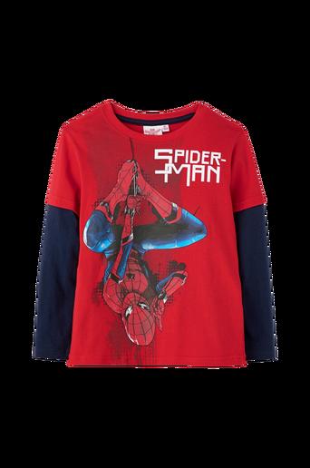 Pitkähihainen Spider-Man-pusero