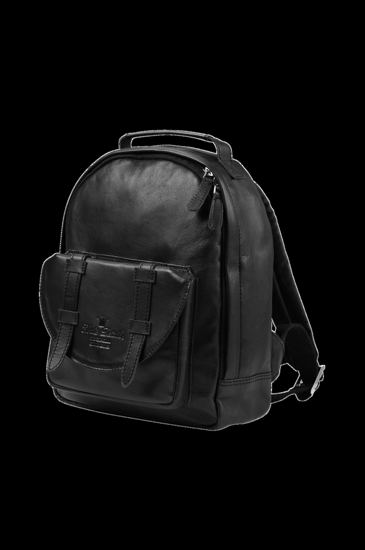 Mini Black Leather -reppu