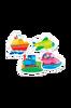Vecihles-vauvanpalapeli, 4 kuviota