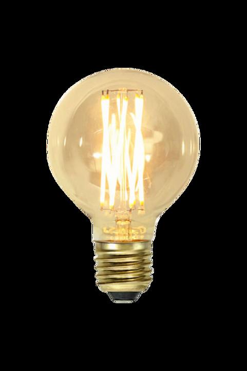 LED-lampa E27 G80 Vintage Gold
