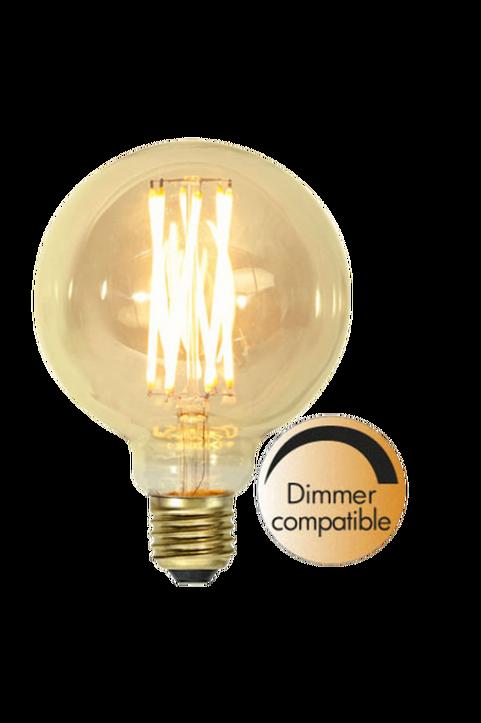 LED-lampa E27 G95 Vintage Gold