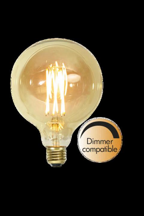 LED-lampa E27 G125 Vintage Gold