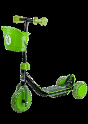 3-renkainen Scooter Mini Kid -potkulauta musta/vihreä