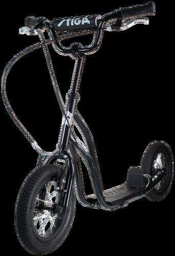 Air Scooter 12 tuumaa, musta