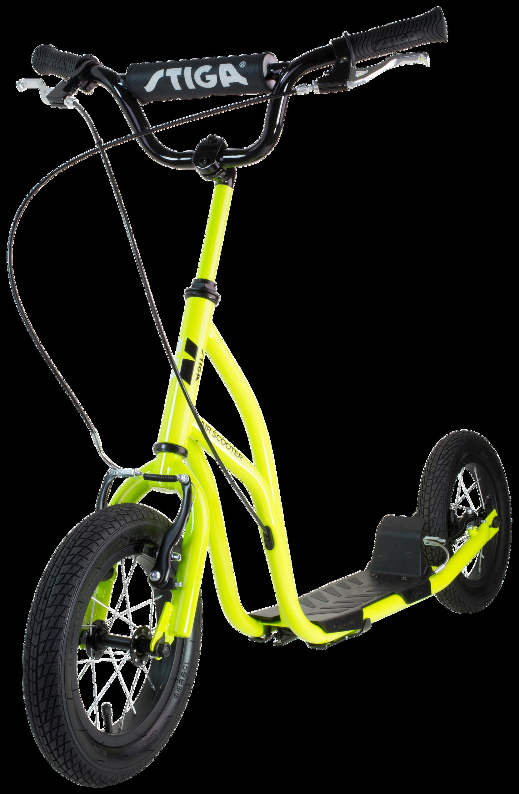 Air Scooter 12 tuumaa, lime