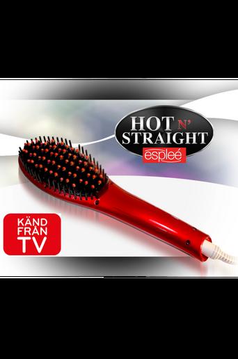 Hot n Straight -suoristusharja, punainen
