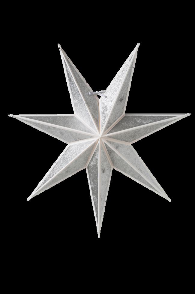 Bilde av Pappstjerne Kristall slim 60
