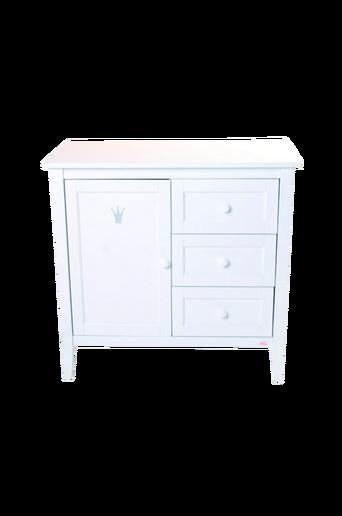 Royal-hoitopöytä/lipasto, valkoinen