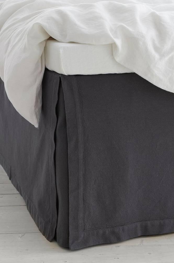 Sängkappa Madison i bomull höjd 60 cm