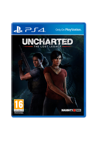 Uncharted The Lost Legacy -peli PS4
