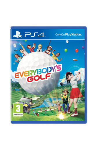 Everybody s Golf -peli, PS4